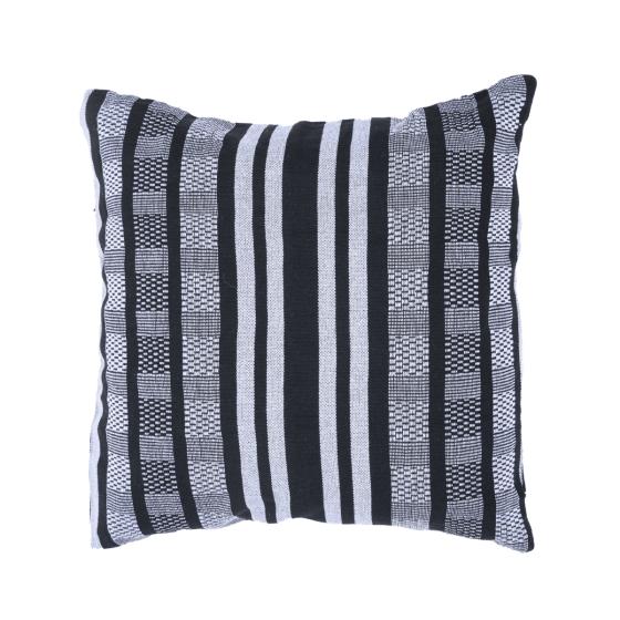 Cuscino Comfort Black White