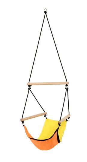 Poltrona sospesa bambini Swinger Yellow
