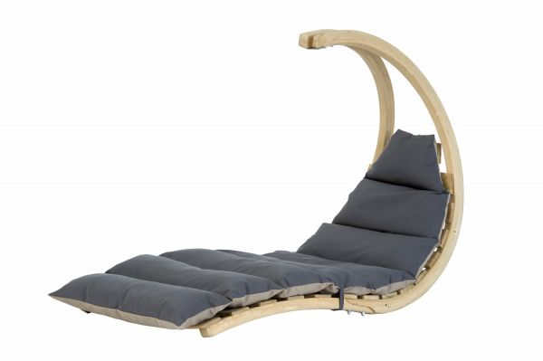 Poltrona sospesa 1 persona Swing Lounger Anthracite