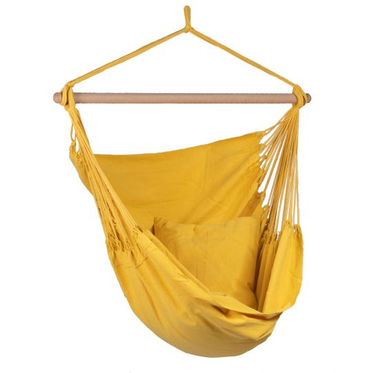 Poltrona sospesa 1 persona Organic Yellow