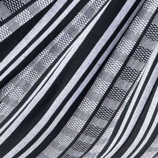 Coperta Comfort Black White